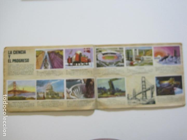Coleccionismo Álbumes: LA VUELTA AL MUNDO EN 320 CROMOS-ALBUM CASI COMPLETO-EDITORIAL BRUGUERA-VER FOTOS-(V-22.231) - Foto 39 - 218839875
