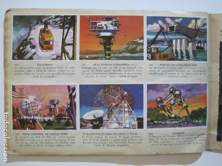 Coleccionismo Álbumes: LA VUELTA AL MUNDO EN 320 CROMOS-ALBUM CASI COMPLETO-EDITORIAL BRUGUERA-VER FOTOS-(V-22.231) - Foto 40 - 218839875