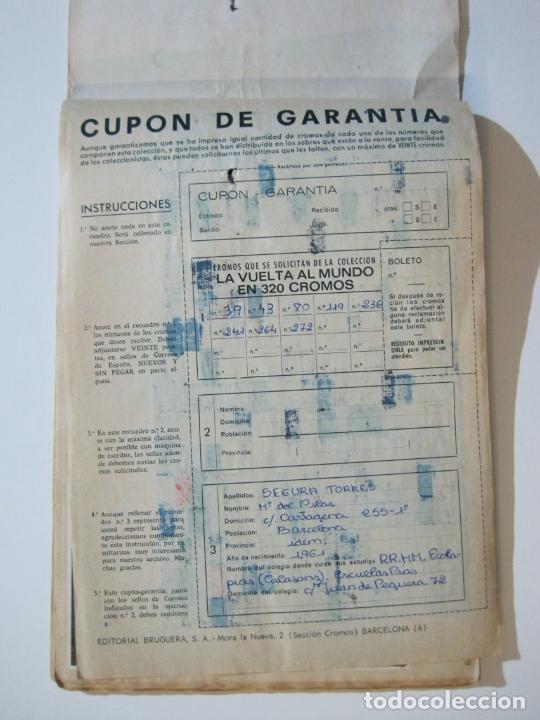 Coleccionismo Álbumes: LA VUELTA AL MUNDO EN 320 CROMOS-ALBUM CASI COMPLETO-EDITORIAL BRUGUERA-VER FOTOS-(V-22.231) - Foto 42 - 218839875