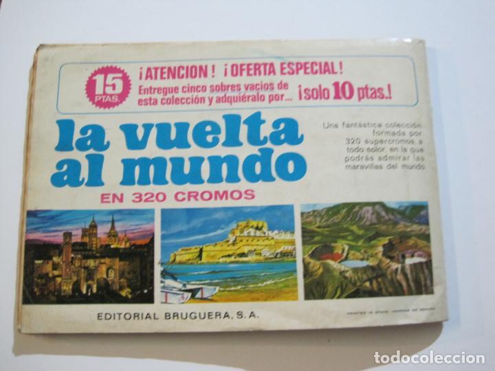 Coleccionismo Álbumes: LA VUELTA AL MUNDO EN 320 CROMOS-ALBUM CASI COMPLETO-EDITORIAL BRUGUERA-VER FOTOS-(V-22.231) - Foto 44 - 218839875