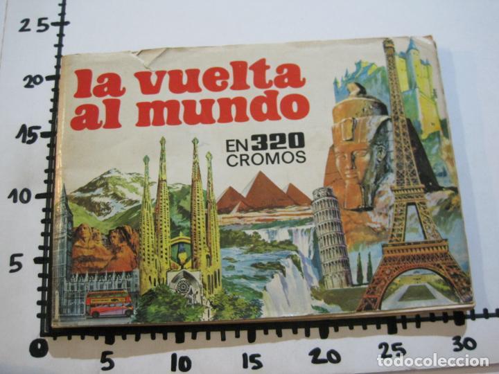 Coleccionismo Álbumes: LA VUELTA AL MUNDO EN 320 CROMOS-ALBUM CASI COMPLETO-EDITORIAL BRUGUERA-VER FOTOS-(V-22.231) - Foto 45 - 218839875