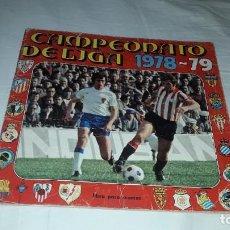 Coleccionismo Álbumes: ALBUM LIGA 1978-79 DE FHER VACÍO. Lote 219053743