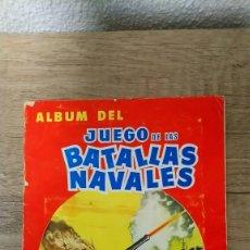 Collezionismo Album: JUEGO DE LAS BATALLAS NAVALES, FALTA 2 CROMOS. Lote 219213146
