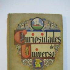 Coleccionismo Álbumes: CURIOSIDADES DEL UNIVERSO-ALBUM DE CROMOS CASI COMPLETO-FALTA 1 CROMO-NESTLE-VER FOTOS-(V-22.273). Lote 219228523