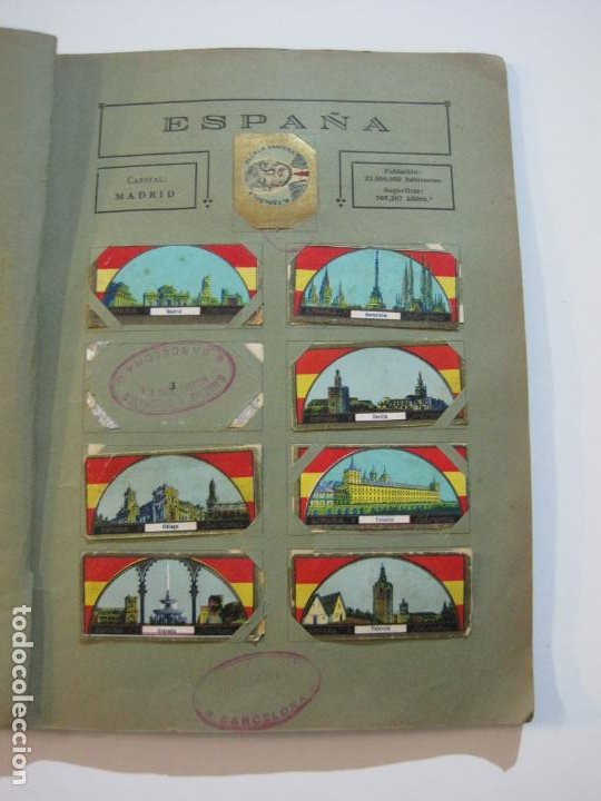 Coleccionismo Álbumes: ALBUM SOLSONA GALLETAS Y CHOCOLATE-ALBUM DE CROMOS CASI COMPLETO-VER FOTOS-(V-22.275) - Foto 13 - 219329600