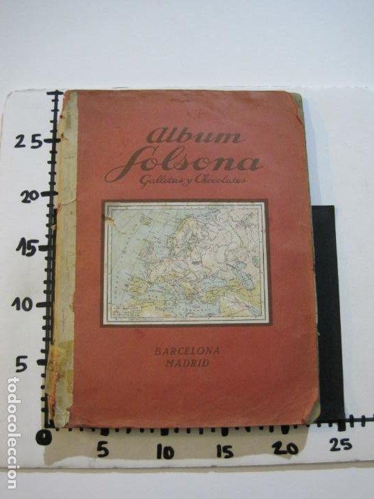 Coleccionismo Álbumes: ALBUM SOLSONA GALLETAS Y CHOCOLATE-ALBUM DE CROMOS CASI COMPLETO-VER FOTOS-(V-22.275) - Foto 38 - 219329600