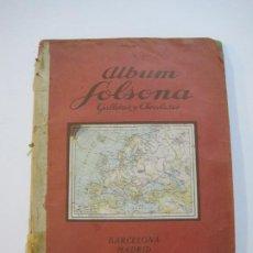 Coleccionismo Álbumes: ALBUM SOLSONA GALLETAS Y CHOCOLATE-ALBUM DE CROMOS CASI COMPLETO-VER FOTOS-(V-22.275). Lote 219329600