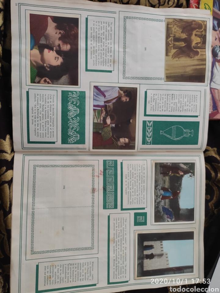 Coleccionismo Álbumes: Album incompleto ben hur - Foto 34 - 210580342