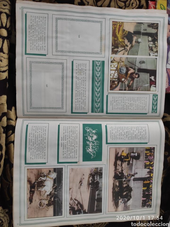 Coleccionismo Álbumes: Album incompleto ben hur - Foto 35 - 210580342