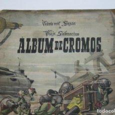 Coleccionismo Álbumes: VEINTE MIL LEGUAS DE VIAJE SUBMARINO-ALBUM DE CROMOS INCOMPLETO-VER FOTOS-(V-22.290)). Lote 219556001