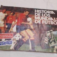 Coleccionismo Álbumes: ALBUM DE PHOSKITOS DEL MUNDIAL 82. Lote 219821033