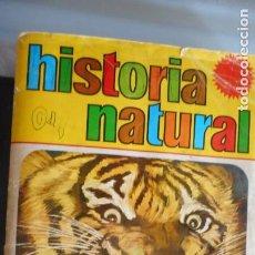 Coleccionismo Álbumes: ALBUM HISTORIA NATURAL. Lote 219835738