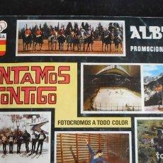 Coleccionismo Álbumes: ALBUM CONTAMOS CONTIGO. Lote 219836966