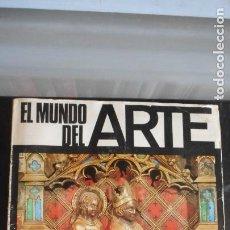 Coleccionismo Álbumes: ÁLBUM EL MUNDO DEL ARTE. Lote 219837383