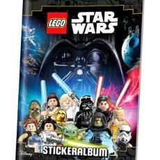 Coleccionismo Álbumes: LEGO STAR WARS ALBUM EN ALEMAN. Lote 220129280