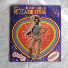 Coleccionismo Álbumes: ALBUM INCOMPLETO MI LIBRO TRAVOLTA SUPER POP. Lote 220829351