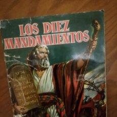 Coleccionismo Álbumes: ALBUM LOS DIEZ MANDAMIENTOS. Lote 220983321