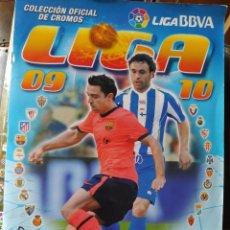 Coleccionismo Álbumes: ÁLBUM DE CROMOS LIGA 09/10. Lote 220987933