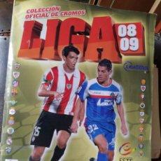 Coleccionismo Álbumes: ALBUN DE CROMOS LIGA 08/09. Lote 220988113