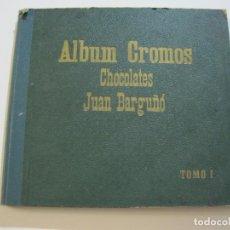 Coleccionismo Álbumes: ALBUM DE CROMOS-CHOCOLATES JUAN BARGUÑO-TOMO I-VACIO-MUY ANTIGUO-VER FOTOS-(V-22.343). Lote 221304508