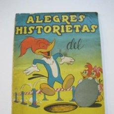 Coleccionismo Álbumes: ALEGRES HISTORIETAS DEL PAJARO LOCO-ALBUM INCOMPLETO-EDITORIAL FHER-VER FOTOS-(V-22.346). Lote 221308421