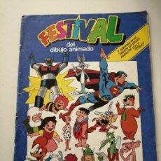 Coleccionismo Álbumes: FESTIVAL DEL DIBUJO ANIMADO COLECCIÓN DE CROMOS. Lote 221360851