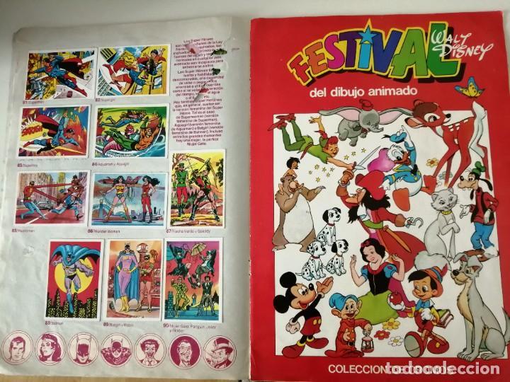 Coleccionismo Álbumes: Festival del dibujo animado colección de cromos - Foto 3 - 221360851