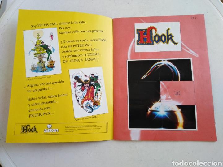 Coleccionismo Álbumes: Álbum de cromos incompleto de hook ( faltan 29 cromos de 162 ) - Foto 2 - 221378280