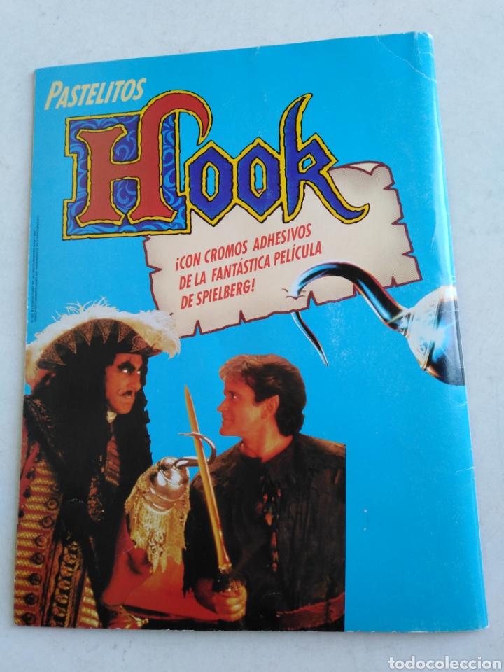 Coleccionismo Álbumes: Álbum de cromos incompleto de hook ( faltan 29 cromos de 162 ) - Foto 15 - 221378280