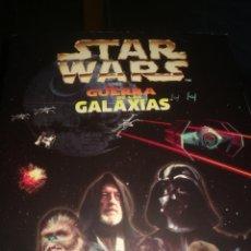 Coleccionismo Álbumes: ALBUM CROMOS STAR WARS FALTA 18 CROMOS 5 STICK. Lote 221409055