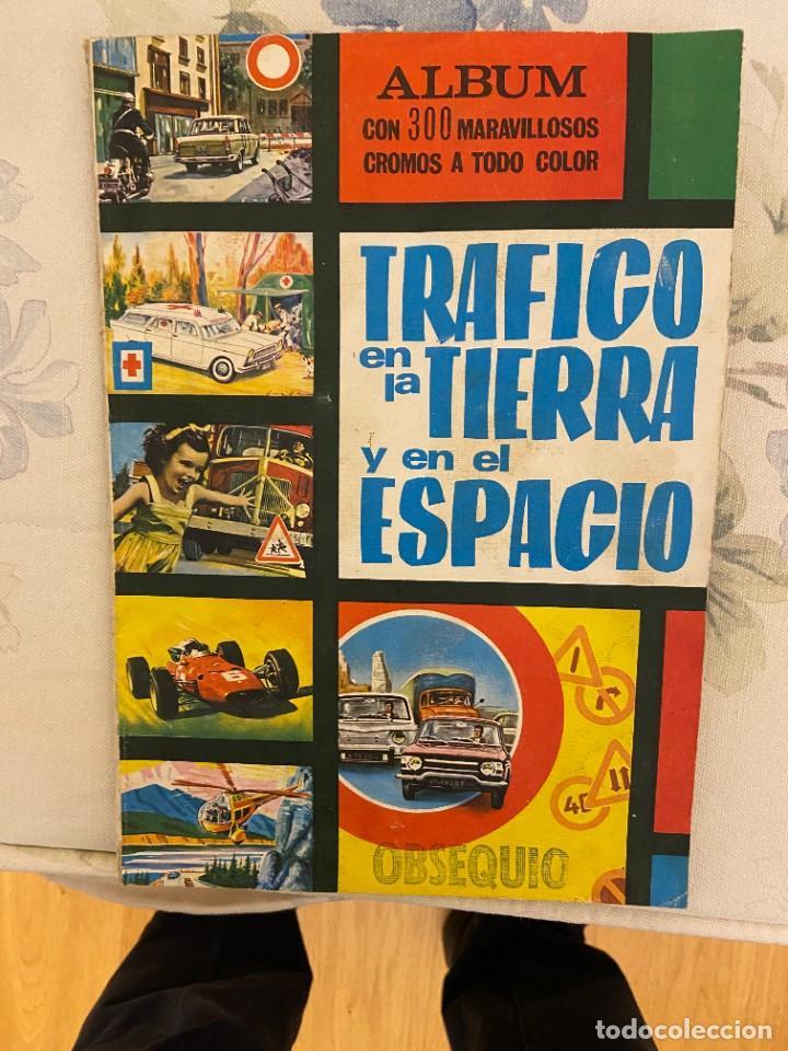 TRAFICO EN LA TIERRA Y EN EL ESPACIO CON 282 CROMOS SE VENDEN SUELTOS (Coleccionismo - Cromos y Álbumes - Álbumes Incompletos)
