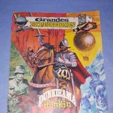 Coleccionismo Álbumes: ALBUM DE CROMOS GRANDES EXPEDICIONES DUNKIN DUNKIRAMA GALLINA BLANCA ORIGINAL AÑO 1969. Lote 221589027