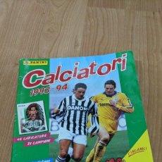 Coleccionismo Álbumes: ÁLBUM CALCIATORI 1993-1994 CON APROX. LA MITAD DE LOS CROMOS. Lote 221607047
