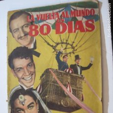 Coleccionismo Álbumes: LA VUELTA AL MUNDO EN 80 DIAS-CANTINFLAS & DAVID NIVEN-ALBUN INCOMPLETO-VER FOTOS-(V-22.353). Lote 221610258