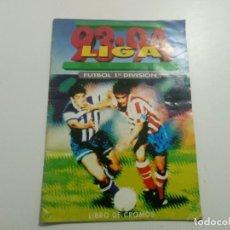 Coleccionismo Álbumes: ALBUM DE CROMOS LIGA DE FUTBOL ESPAÑA 1993 1994 93 94 EDICIONES ESTE, TIENE 60 CROMOS INCOMPLETO. Lote 221621308
