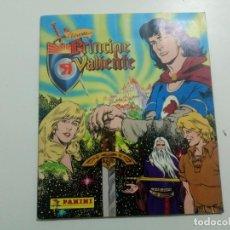 Coleccionismo Álbumes: ALBUM DE CROMOS DE LA LEYENDA DEL PRINCIPE VALIENTE PANINI FALTAN 16 CROMOS INCOMPLETO TIENE 196. Lote 221621736