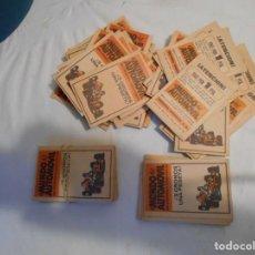 Coleccionismo Álbumes: CROMOS SIN ABRIR DE EL MUNDO DEL AUTOMOVIL AÑO 1970. Lote 221708266