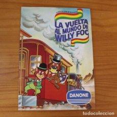 Coleccionismo Álbumes: LA VUELTA AL MUNDO DE WILLY FOG. ALBUM DE CROMOS DANONE. FALTAN 3 CROMOS. Lote 221744842
