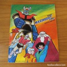 Coleccionismo Álbumes: MAZINGER Z. ALBUM DE CROMOS INCOMPLETO EDITORIAL FHER 1978. Lote 221745150