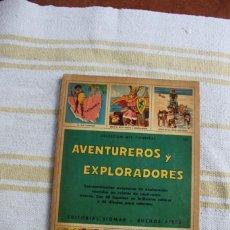 Coleccionismo Álbumes: COLECCION MIS FIGURITAS : AVENTUREROS Y EXPLORADORES; EDITORIAL SIGMAR. Lote 221954397