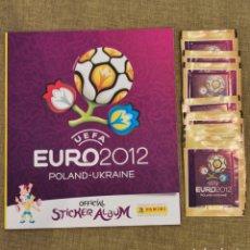 Coleccionismo Álbumes: ALBUM VACÍO EURO 2012 + 10 SOBRES. Lote 221955387