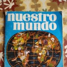 Coleccionismo Álbumes: 2 ÁLBUMES BIMBO NUESTRO MUNDO 1 Y 2 INCOMPLETOS. Lote 221955480