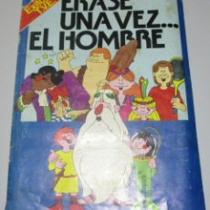 Coleccionismo Álbumes: ALBUM ERASE UNA VEZ... EL HOMBRE CON 333 DE 400 CROMOS PACOSA DOS 1978. Lote 222229440