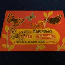 Colecionismo Cadernetas: COLECCIÓN MARIPOSAS COMPLETO 48 CROMOS. PANRICO 1971. DIFÍCIL.. Lote 222500942