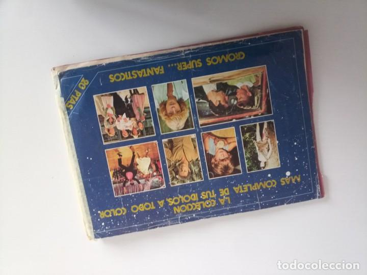 ALBUM CROMOS INCOMPLETO CROMOS SUPER FANTASTICOS (Coleccionismo - Cromos y Álbumes - Álbumes Incompletos)