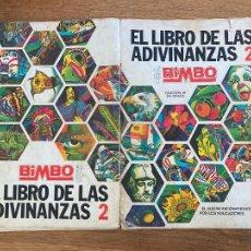 Collectionnisme Albums: ¡LIQUIDACION! PEDIDO MINIMO 5 EUROS - ALBUM CROMOS INCOMPLETO / GRAN LIBRO ADIVINANZAS 2 - GCH1. Lote 222637151