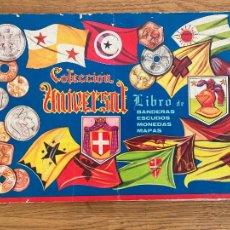 Collectionnisme Albums: ¡LIQUIDACION! PEDIDO MINIMO 5 EUROS - ALBUM CROMOS INCOMPLETO / LIBRO DE BANDERAS, ESCUDOS... - GCH1. Lote 222638912