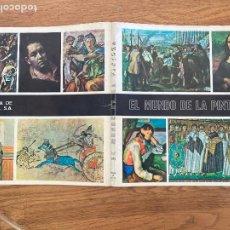 Collectionnisme Albums: ¡LIQUIDACION! PEDIDO MINIMO 5 EUROS - ALBUM CROMOS INCOMPLETO / EL MUNDO DE LA PINTURA - GCH1. Lote 222639675
