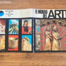 Collectionnisme Albums: ¡LIQUIDACION! PEDIDO MINIMO 5 EUROS - ALBUM CROMOS INCOMPLETO / EL MUNDO DEL ARTE - GCH1. Lote 222639731