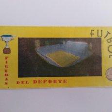 Coleccionismo Álbumes: ALBUM FIGURAS DEL DEPORTE FUTBOL. Lote 223057435